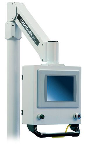 Medical monitor support arm / wall-mounted Operator Interface Strongarm
