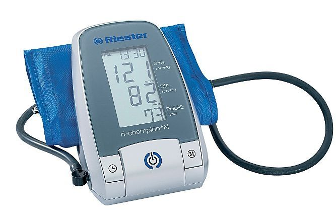 Automatic blood pressure monitor / electronic / arm 0 - 299 mmHg | ri-champion® N Rudolf Riester