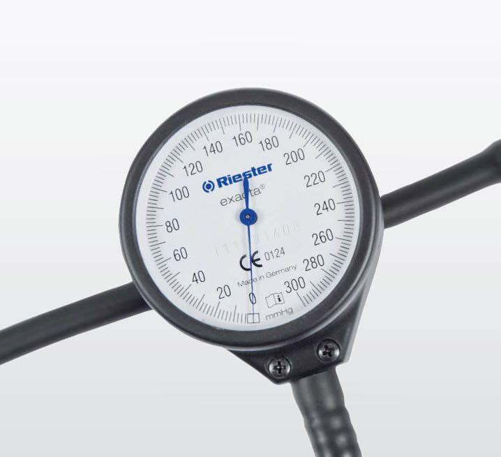 Aneroid sphygmomanometer 0-300 mmHg | exacta® Rudolf Riester