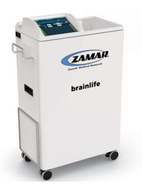 Microwave diathermy unit (physiotherapy) / on trolley BRAINLIFE Zamar Therapy
