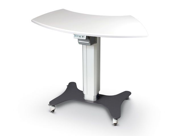 Electric ophthalmic instrument table / on casters / height-adjustable TTVS-1000 Tomey