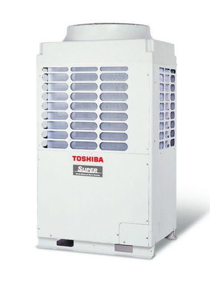Inverter heat pump 14 - 150 kW | SMMSi Toshiba air conditioning