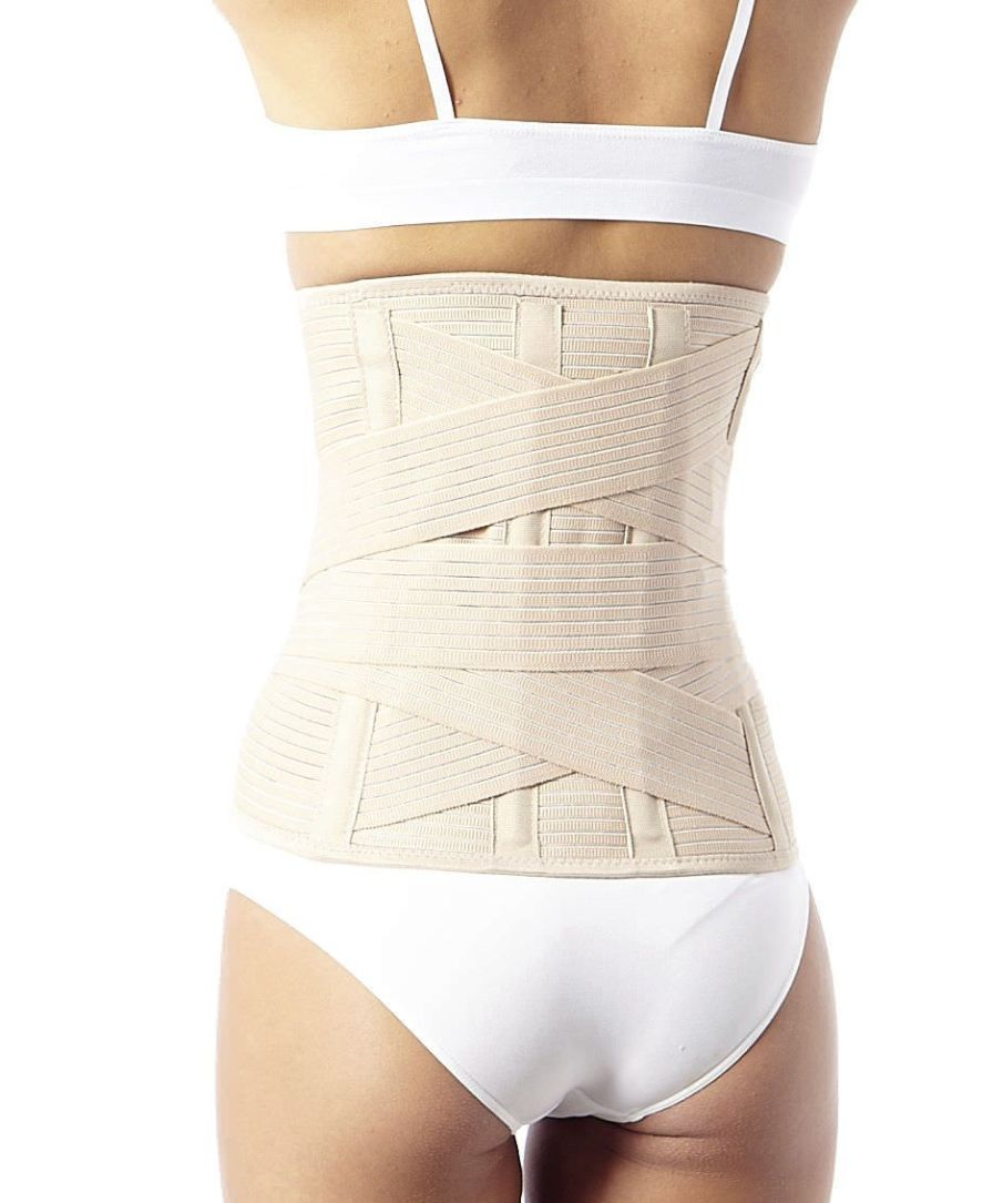 Lumbar support belt / with reinforcements / flexible ProtPoint Elastic Teyder