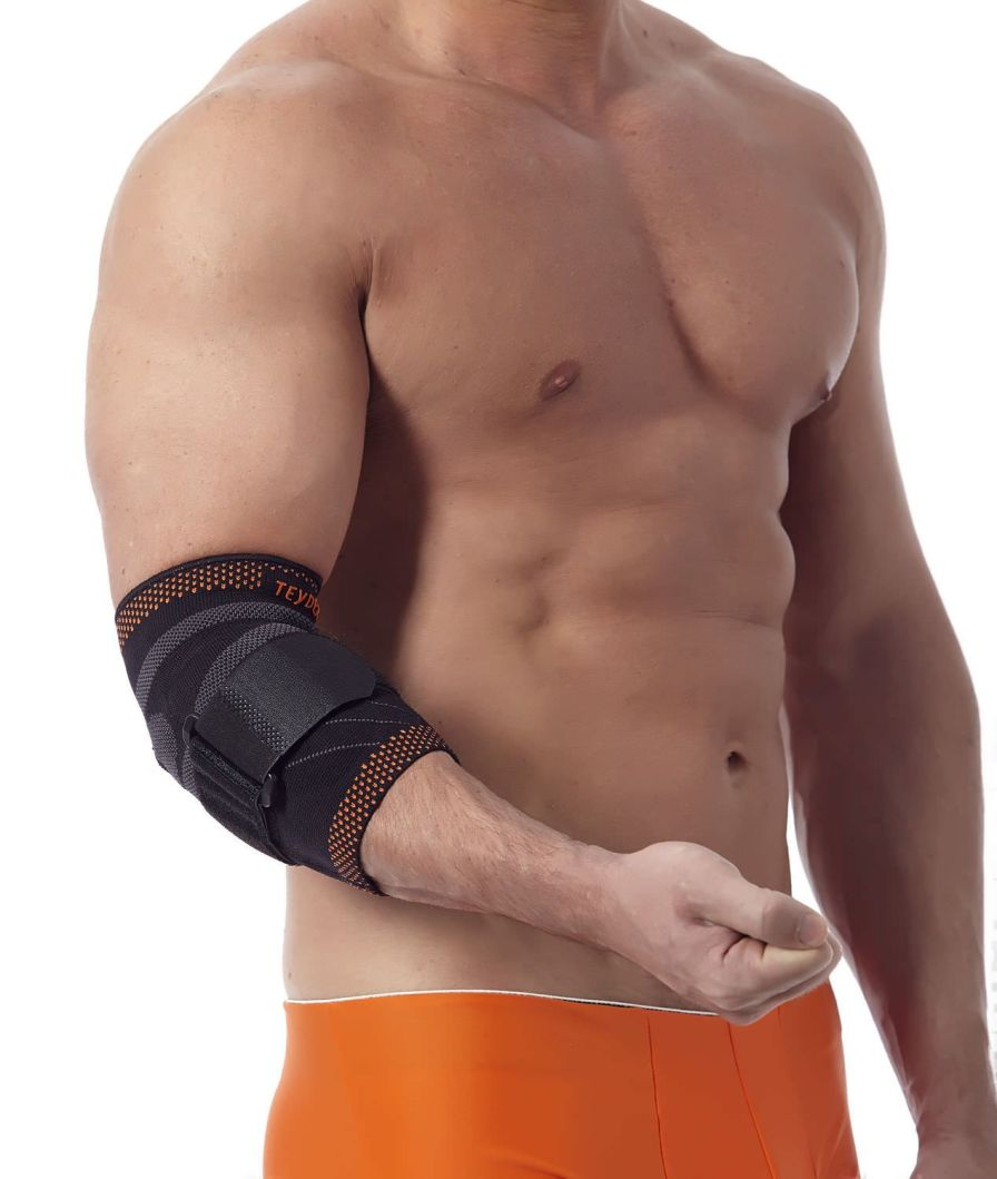 Elbow sleeve (orthopedic immobilization) / epicondylitis strap / with epicondylus muscle pad Golden Line Teyder