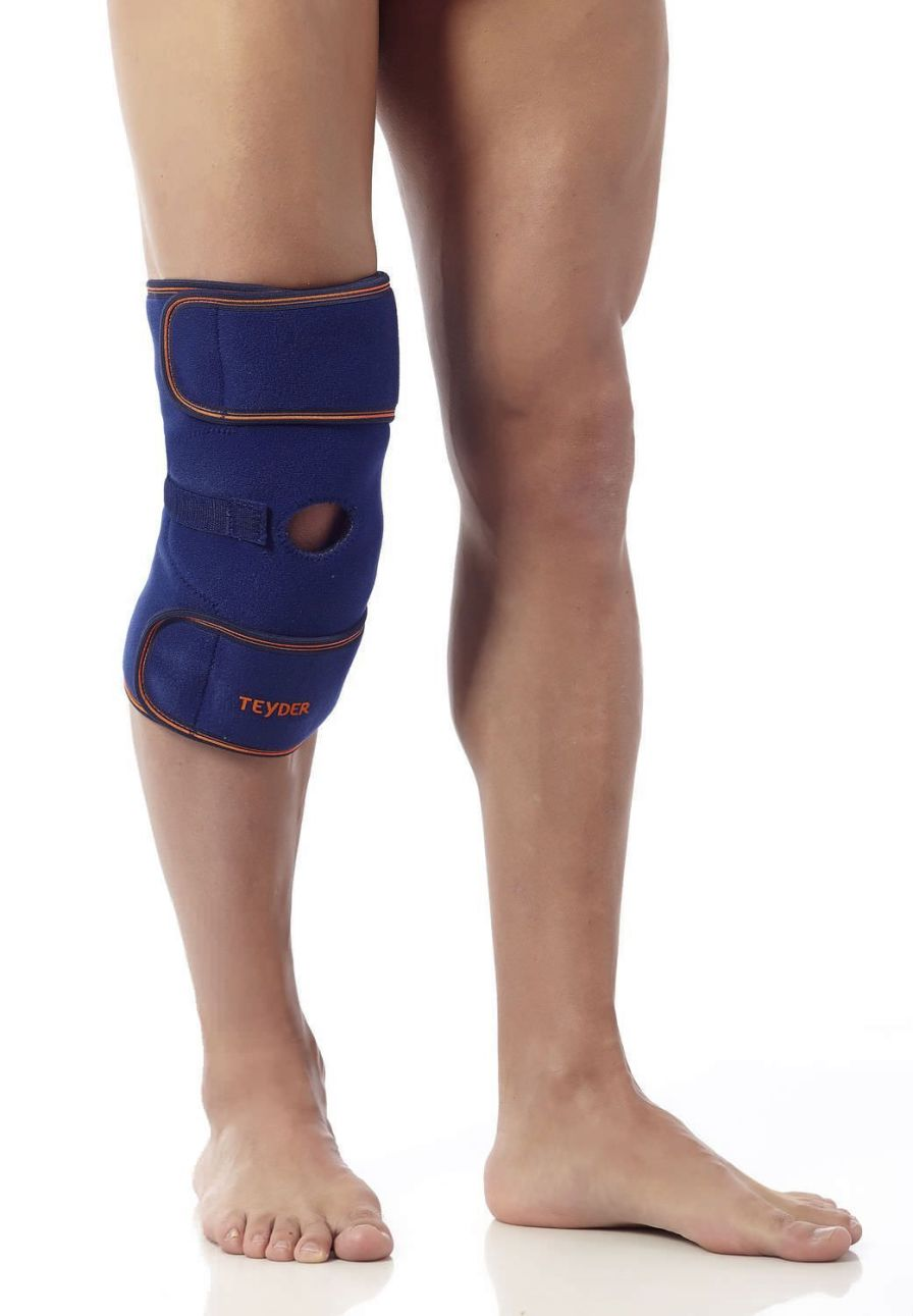 Knee orthosis (orthopedic immobilization) / with flexible stays / open knee Neothermik Teyder