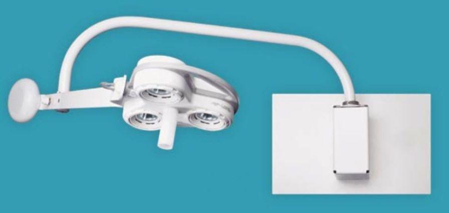 Halogen surgical light / wall-mounted / 1-arm CS2050W Celestial Star™ Sunnex MedicaLights