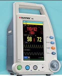 "Compact multi-parameter monitor 7""   Spot Sunnex MedicaLights"