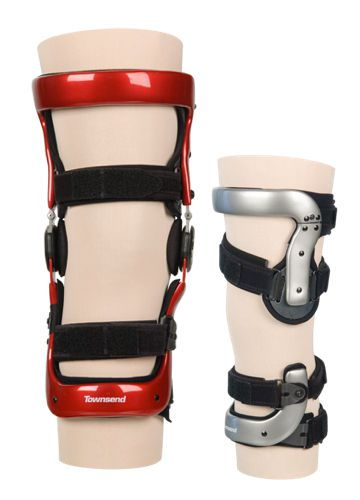 Knee orthosis (orthopedic immobilization) / knee distraction (osteoarthritis) / articulated Premier Series Townsend