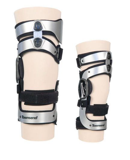 Knee orthosis (orthopedic immobilization) / knee distraction (osteoarthritis) / articulated RELIEVERONE Townsend