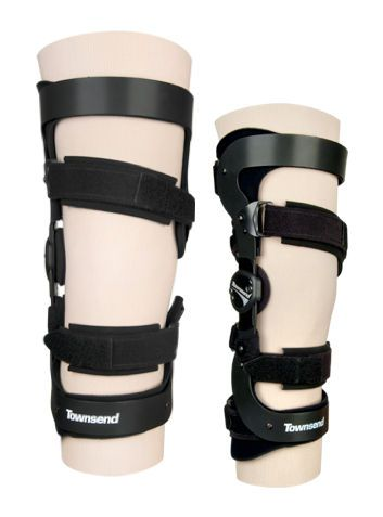 Knee orthosis (orthopedic immobilization) / knee distraction (osteoarthritis) / articulated UNIRELIEVER Townsend