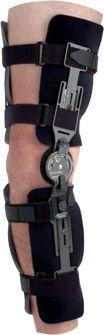 Knee splint (orthopedic immobilization) / articulated EZ PADS Townsend