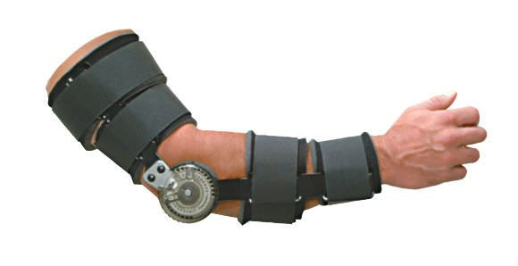 Elbow splint (orthopedic immobilization) / articulated MULTI-ADJUSTMENT ROM ELBOW Townsend