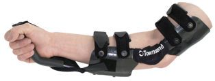 Elbow orthosis (orthopedic immobilization) / articulated / with handle CUSTOM ELBOW Townsend