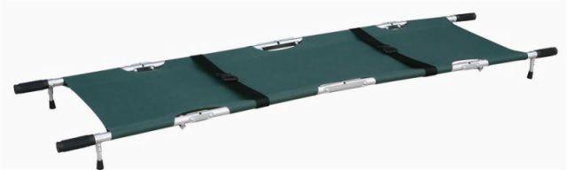 Folding stretcher / aluminium / 1-section 159 kg | YXH-1F2 Zhangjiagang Xiehe Medical Apparatus & Instruments