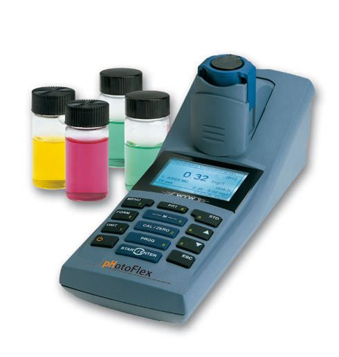 Hand-held photometer pHotoFlex® pH WTW