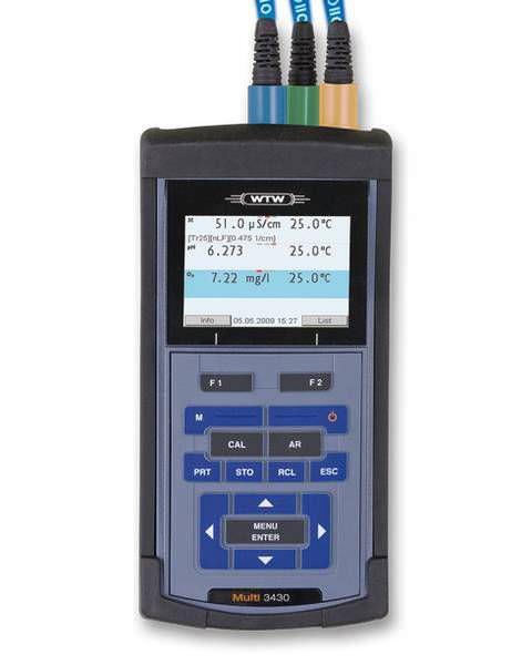 Laboratory multimeter / hand-held / digital Multi 3430 IDS WTW