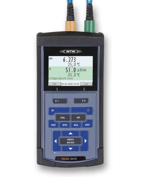 Laboratory multimeter / hand-held / digital Multi 3420 IDS WTW