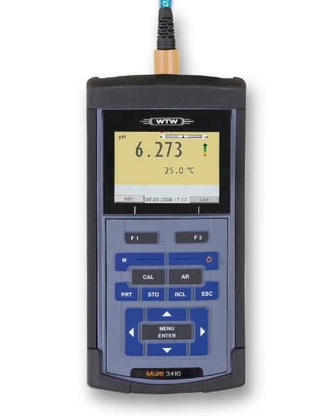 Laboratory multimeter / hand-held / digital Multi 3410 IDS WTW