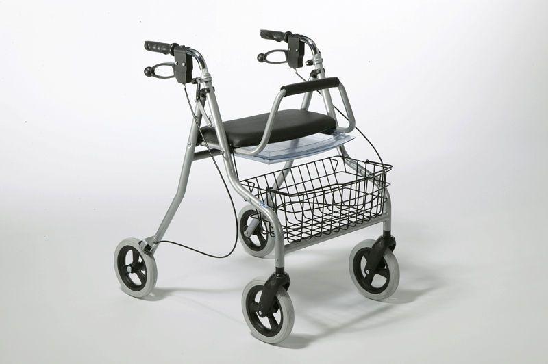 4-caster rollator / folding / height-adjustable 275 Vermeiren