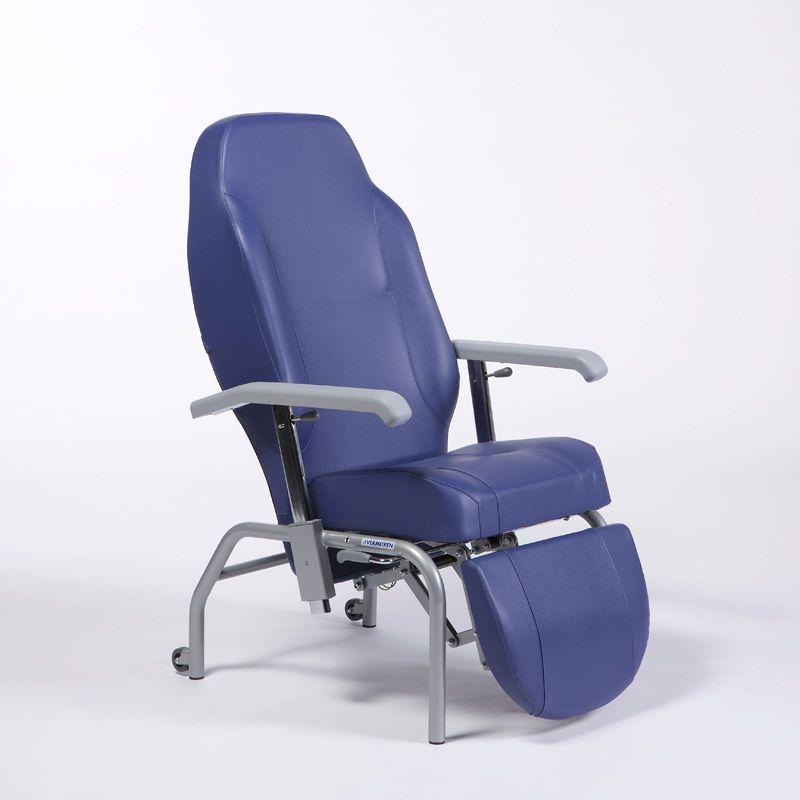 Reclining medical sleeper chair / manual Normandie Vermeiren