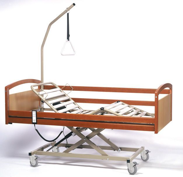 Electrical bed / height-adjustable / 4 sections Interval Vermeiren