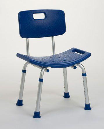 Shower chair / height-adjustable Lilly Vermeiren
