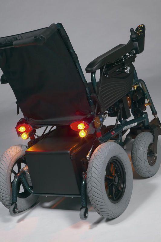Electric wheelchair / interior / exterior SQUOD SOFT Vermeiren