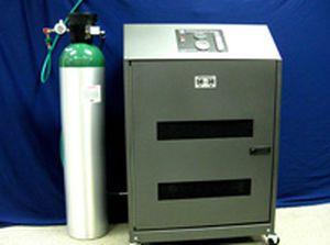 Mobile oxygen generator / medical / 1 tank Summit Hill Laboratories