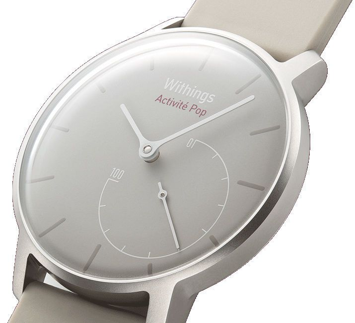 Physical activity monitor wrist / wearable Activité Pop Withings