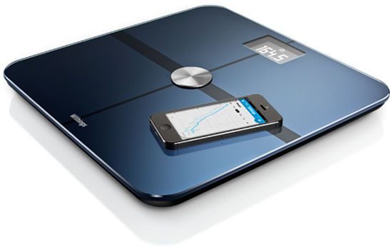 Bio-impedancemetry body composition analyzer / digital 5 -180 kg Withings