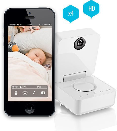 Baby monitor video Withings
