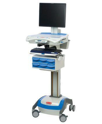 Medical computer cart / medicine distribution 1806465 Rubbermaid Medical Solutions