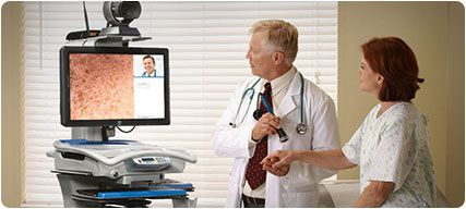 Telemedicine cart Rubbermaid Medical Solutions