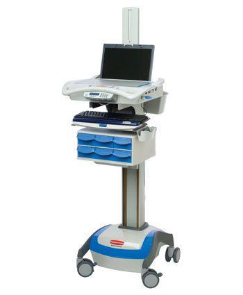 Medicine distribution computer cart / medical / for laptop 9M38-XP-L3500 Rubbermaid Medical Solutions
