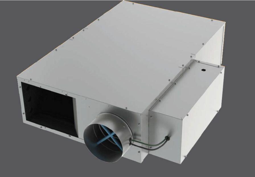 Air flow regulator for healthcare facilities PFLS Titus