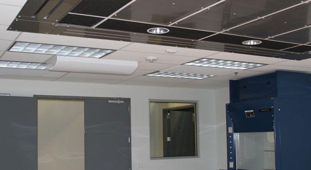 Healthcare facility air diffuser LineaTec-AL Titus