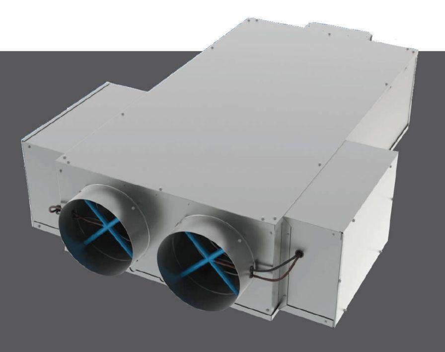 Air flow regulator for healthcare facilities DMDV Titus