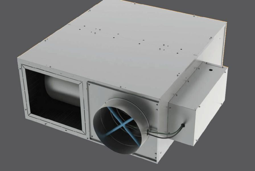 Air flow regulator for healthcare facilities PTQP Titus