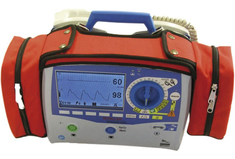Semi-automatic external defibrillator / compact multi-parameter monitor DEFIGARD 4000 SCHILLER