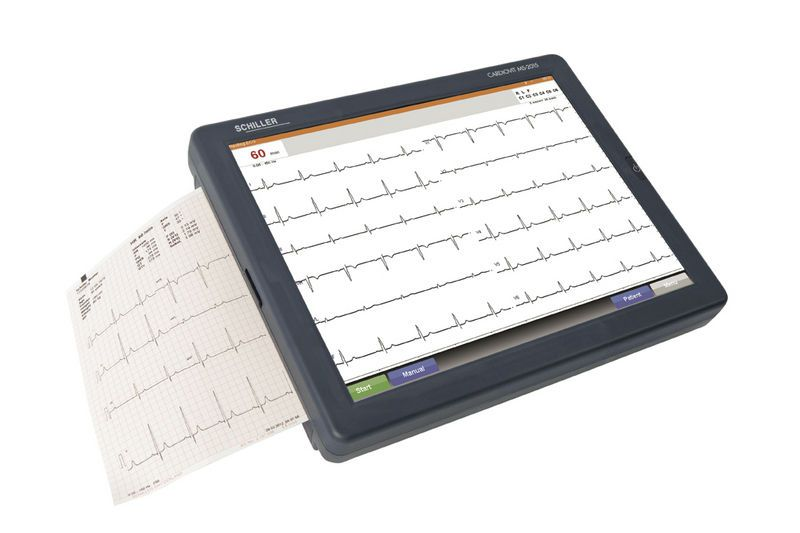 Digital electrocardiograph / 12-channel / with touchscreen CARDIOVIT MS-2015 SCHILLER