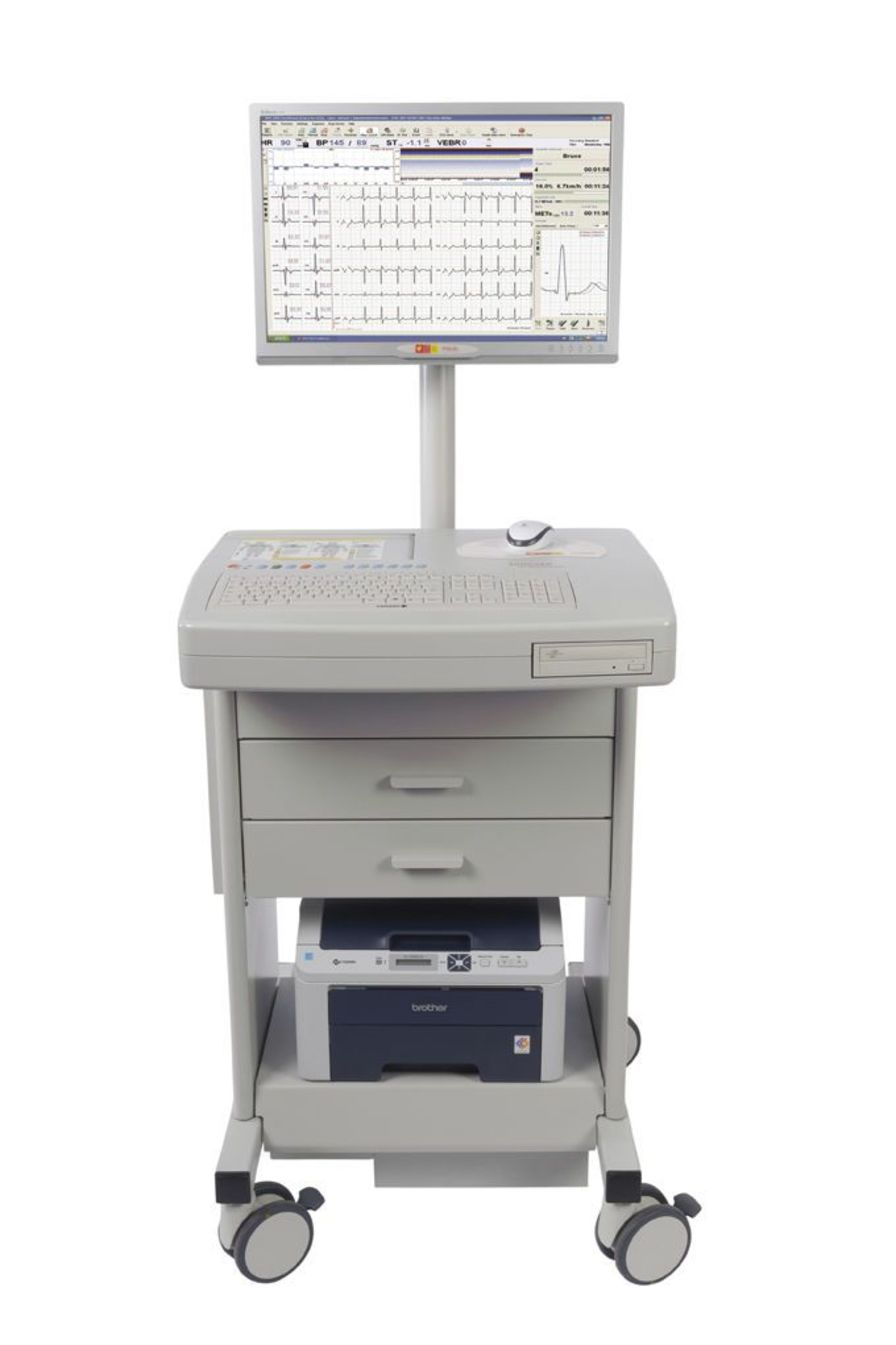 Cardiac stress test equipment CARDIOVIT CS-200 Excellence SCHILLER