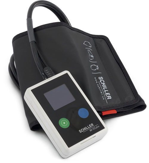 NIBP patient monitor / handheld / ambulatory BR-102 plus SCHILLER