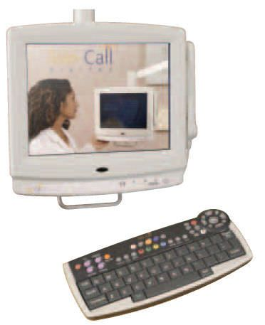 Medical display / touch screen Tele-Call Digital Wandsworth Group