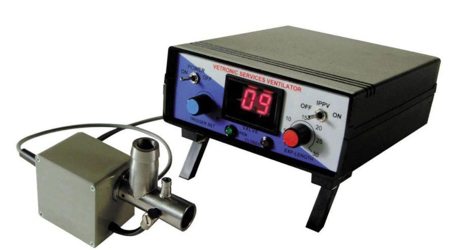 Electro-pneumatic ventilator / anesthesia / veterinary SAV03 Vetronic Services
