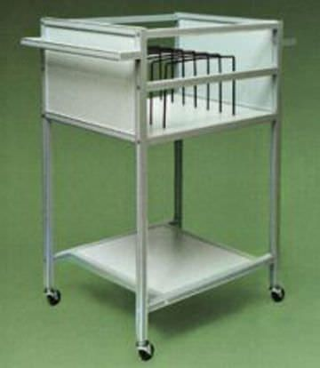 Storage cart / for X-ray films 25505, 25503 Wolf X-Ray Corporation