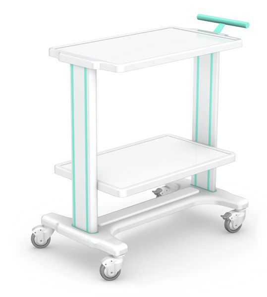 Multi-function trolley / instrument MB-3 series H-01 type new image TECHMED Sp. z o.o.