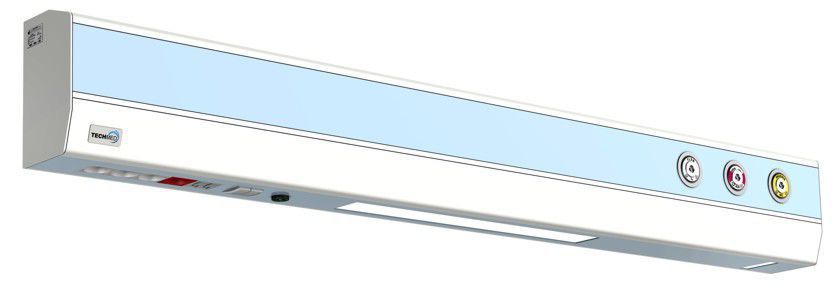Horizontal bed head unit / with light 1.6 m | ISA 505 TECHMED Sp. z o.o.