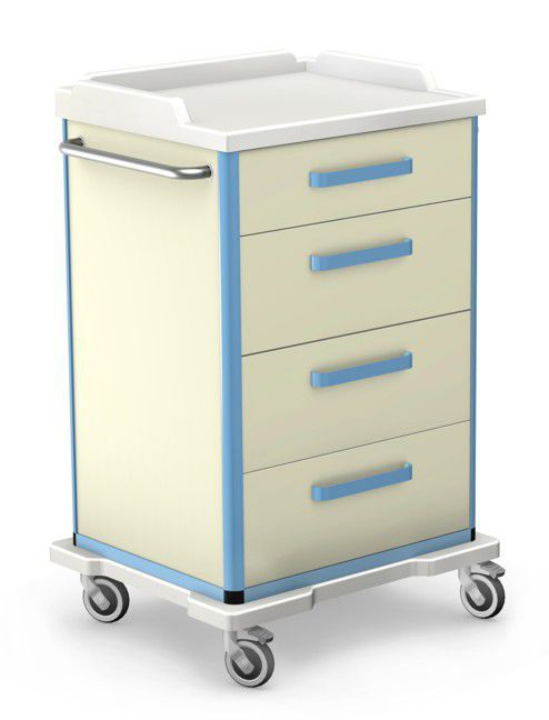 Multi-function trolley / medical device / with drawer / with door WMW series TECHMED Sp. z o.o.