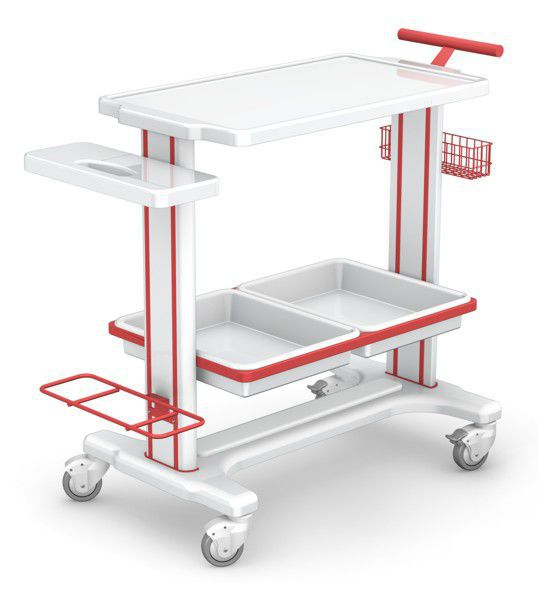 Multi-function trolley / instrument MB-3 series H-03 type new image TECHMED Sp. z o.o.