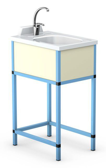Changing table / with sink OSKAR series TECHMED Sp. z o.o.